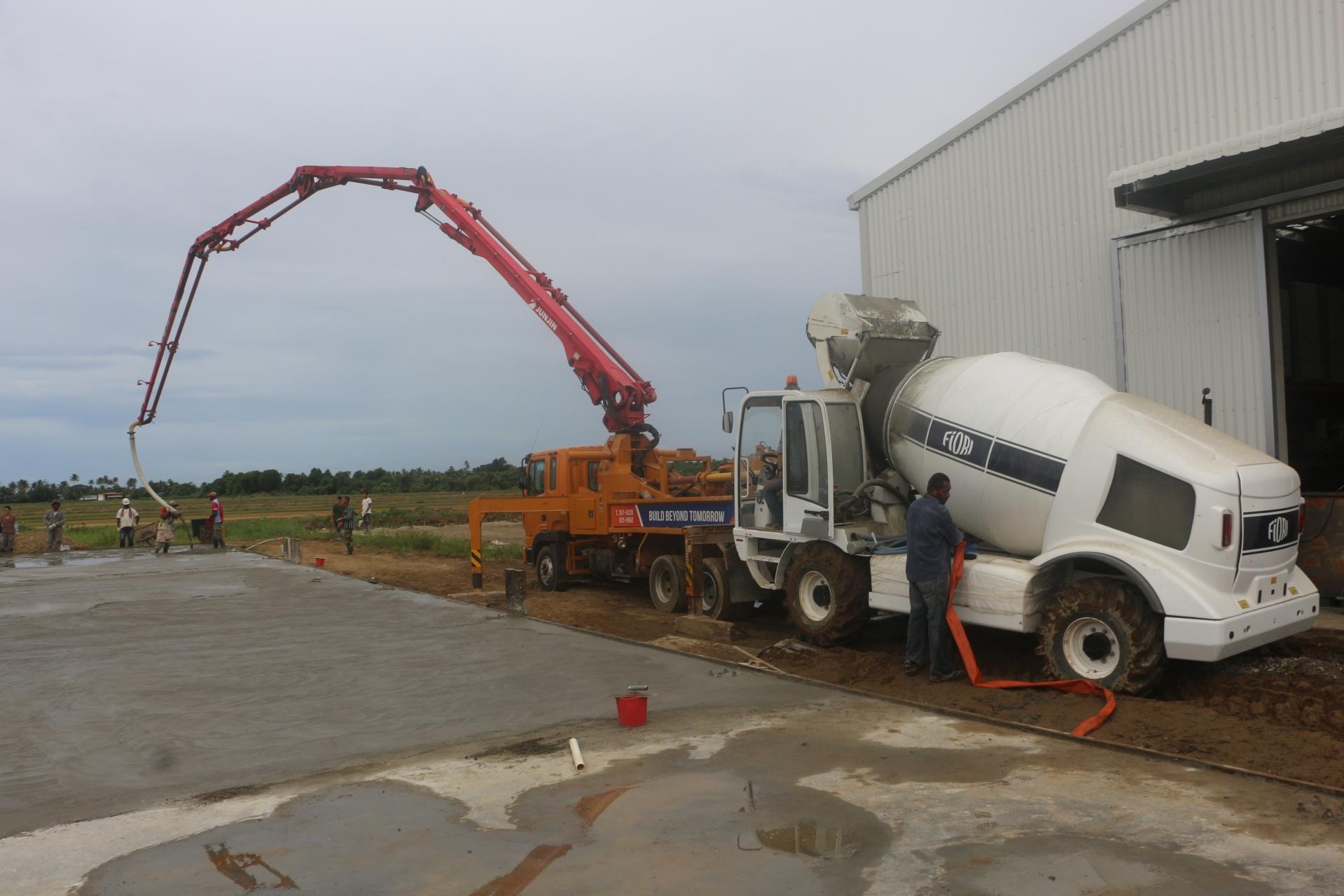 бетон транспортная
