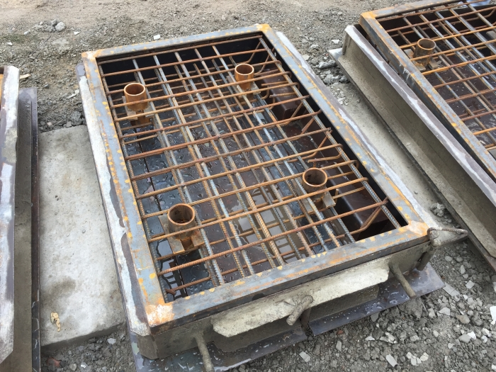 Produits en beton et beton pref.
