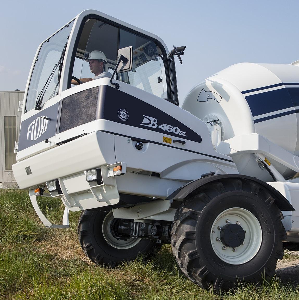 Fiori 460 Cbv.Db 460 Self Loading Concrete Mixer Fiori Group